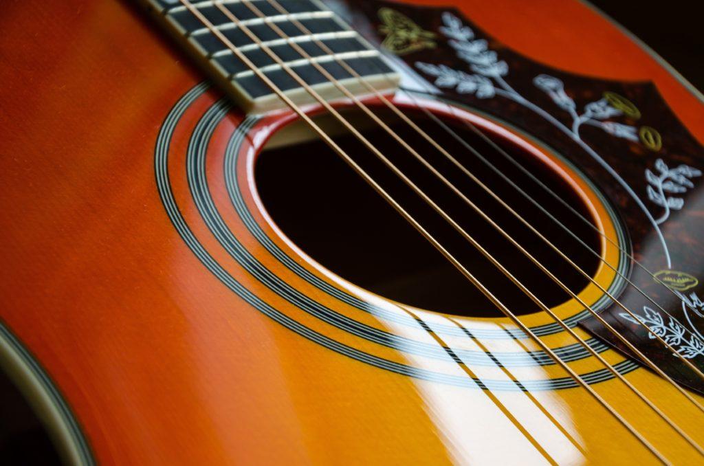 Acoustic guitar blues