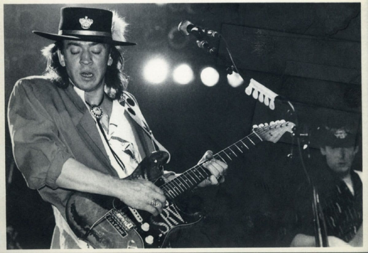 Stevie Ray Vaughan In Lights