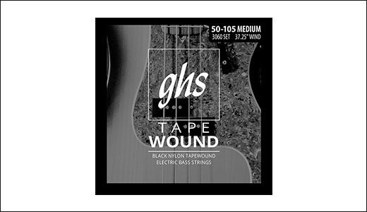 GHS Reintroduces Tapewound Bass Guitar Strings Price Discount