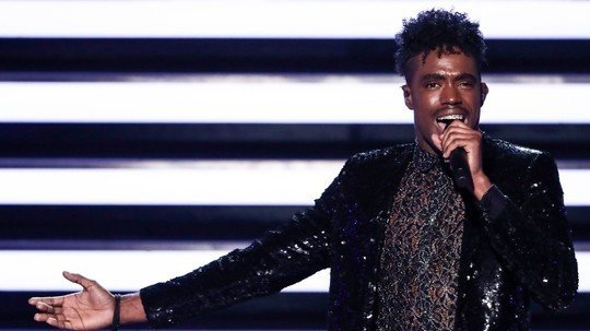 Dalton Harris Performs In X Factor
