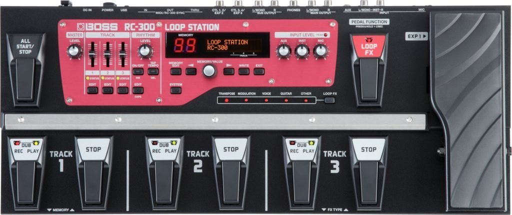 Loop Pedal By Boss