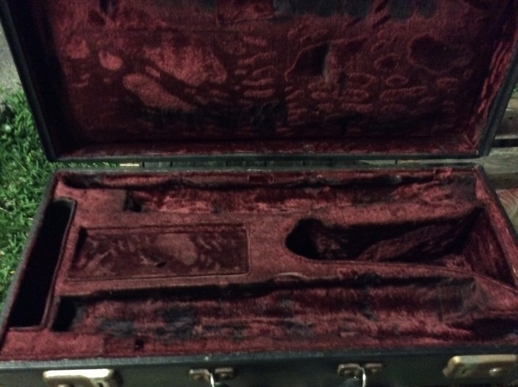 Sax Case After Repairs