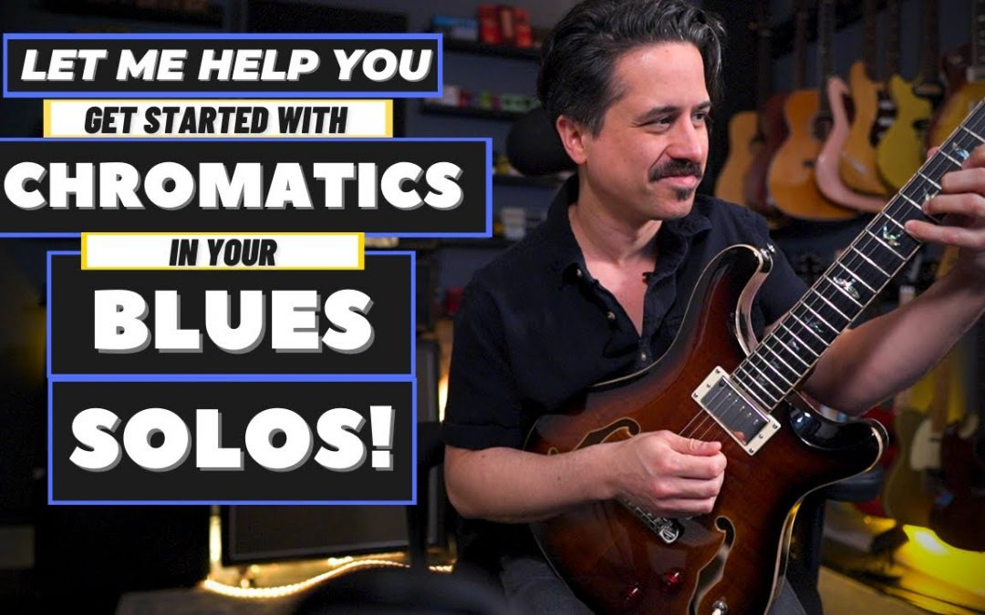 Chromatic Blues Guitar Licks Lesson! – Use Scales You Already Know!