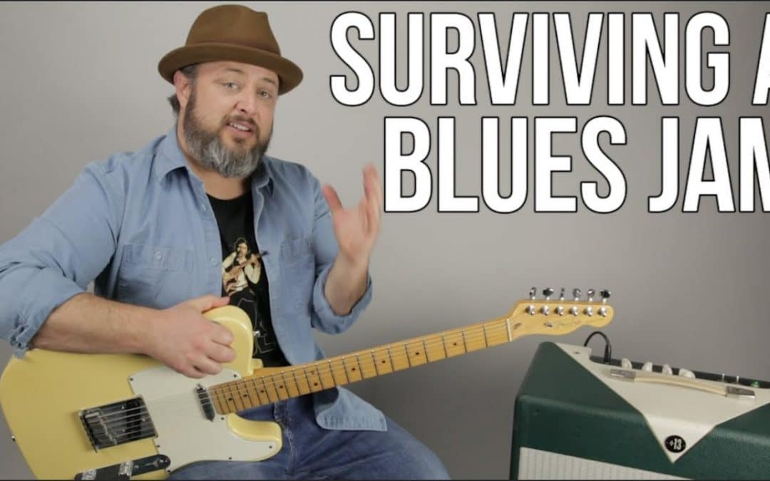 How to Survive in a Blues Jam – Repeating Blues Guitar Licks