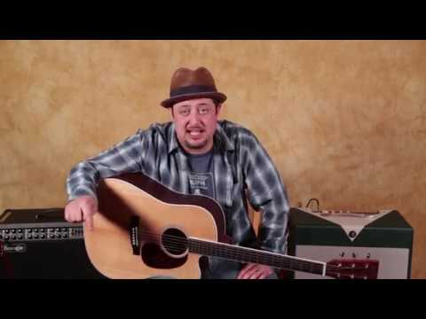Simple Acoustic Blues Guitar Licks (Taught slowly for beginners)