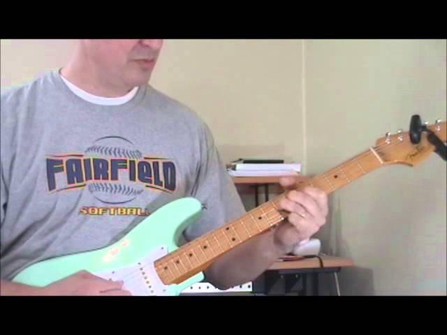 Classic Blues Guitar Licks #11   Hubert Sumlin